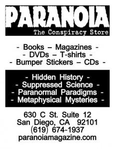 Paranoia Flyer