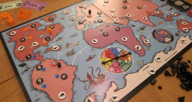 War on Terror The Board Game - The board and components