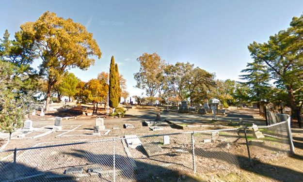 When the Ghosts Come out at the Alhambra Pioneer Cemetery