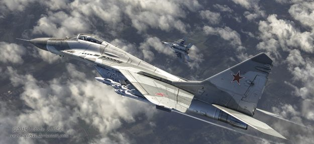 An Outsider Above the Border – Russian Federation Mig 29 Chases UFO for 18 minutes with Audio!