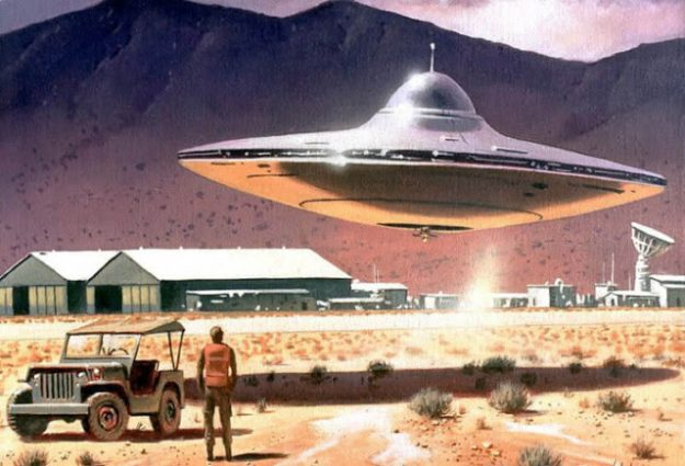 UFO's – Touching is Believing
